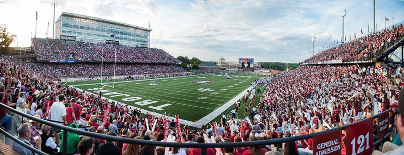 Troy University Troy stadium big
