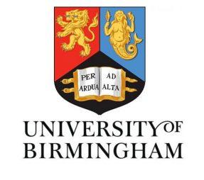 Học bổng Tiến Sỹ dành cho sinh viên quốc tế tại University of Birmingham, Anh Quốc