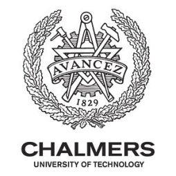 Học bổng Chalmers IPOET dành cho sinh viên quốc tế, Thụy Điển 2015