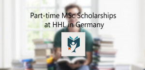 Học bổng Thạc sĩ Khoa học bán thời gian HHL năm 2015 dành cho sinh viên quốc tế.