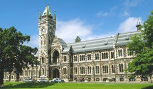 Học bổng thạc sỹ quốc tế tại Đại học Otago, New Zealand, 2016