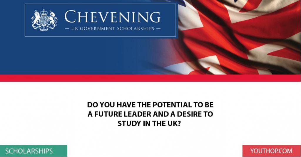 Học bổng Chevening của Chính phủ Anh, năm học 2016 - 2017