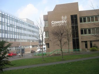 Học bổng Quốc tế dựa trên thành tích học tập của Đại học Coventry, Vương quốc Anh năm 2015.