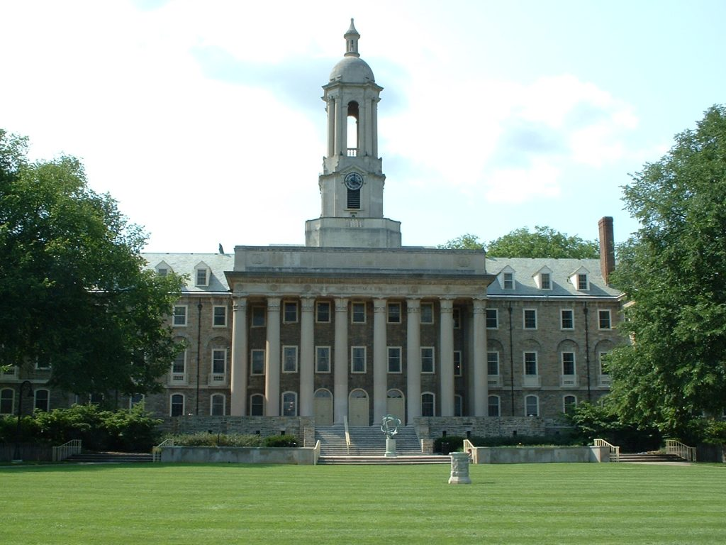 Đại học Pennsylvania State, Mĩ.