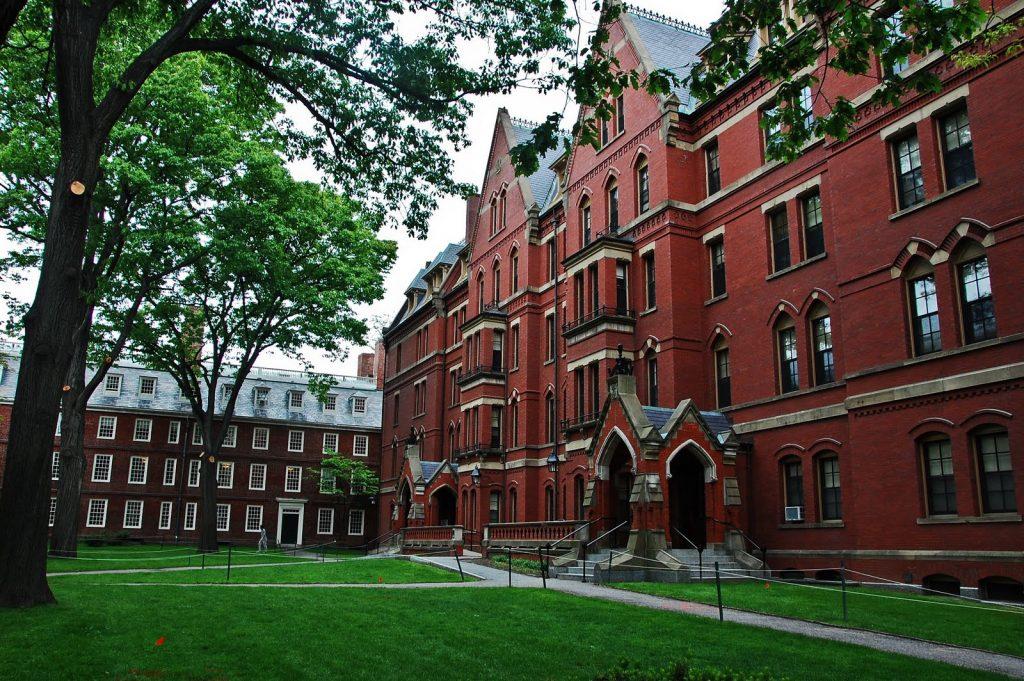 Đại học Harvard, Mĩ