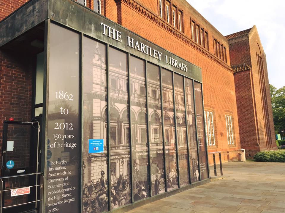 Thư viện Hartley của Đại học Southampton