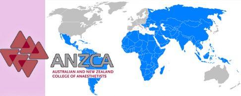 Học bổng Huấn luyện của Hiệp hội các chuyên gia gây mê hồi sức tại Úc và New Zealand (ANZCA), năm 2016