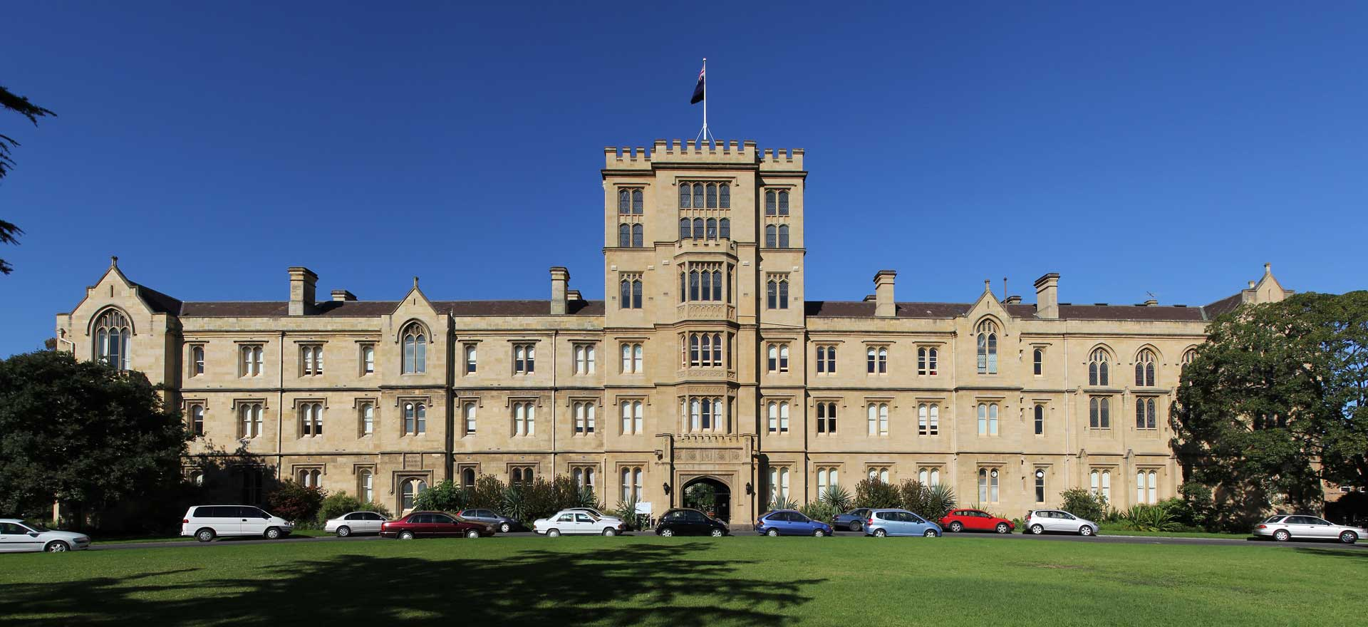 University of Melbourne, Úc, parkville