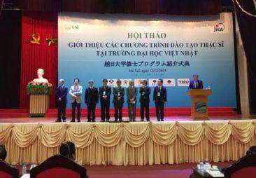 Chính phủ Nhật Bản cấp học bổng toàn phần cho học viên thạc sĩ tại trường ĐH Việt Nhật