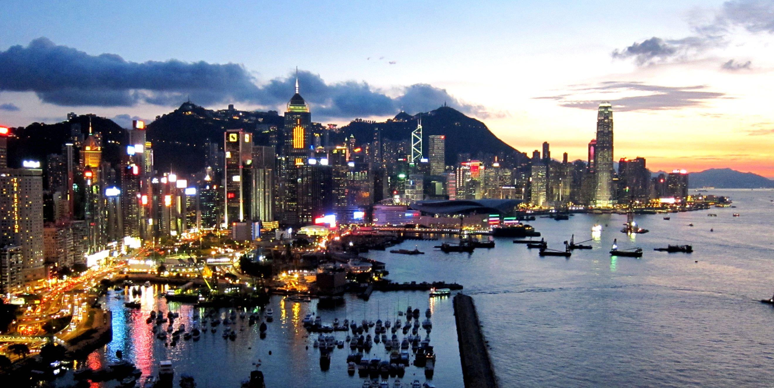 Hong Kong Island Skyline 201108 Tin tức, Du học châu Á