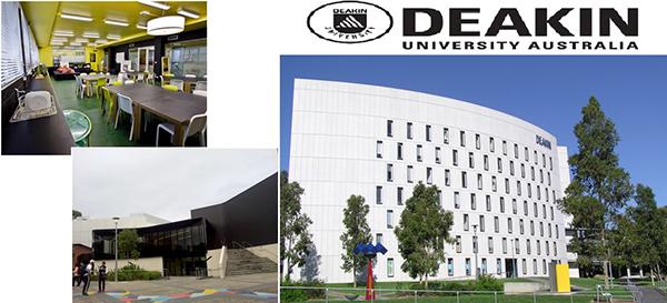 Kết quả hình ảnh cho đại học deakin úc