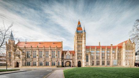 Học bổng Thạc sĩ dành cho ứng viên Việt Nam, ĐH Manchester, Anh, 2017