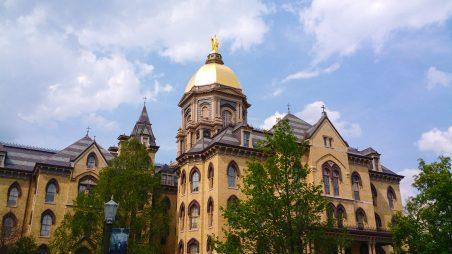 Học bổng Cao học của Đại học Notre Dame, Mỹ năm học 2017-2018