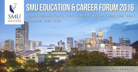 [HCM] Hội thảo Du học Thạc sĩ và Cơ hội Nghề nghiệp của Đại học SMU (Singapore)