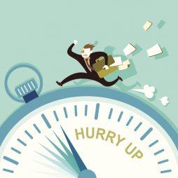 Đến sớm 5 phút là đúng giờ; Đúng giờ là trễ; Trễ thì không thể chấp nhận được