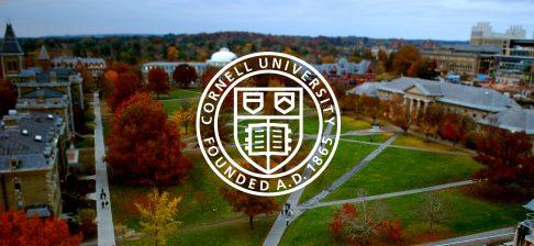 Học bổng Nghiên cứu sinh, ĐH Cornell, Mỹ, 2017-2019