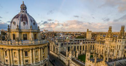 Học bổng ngắn hạn, ĐH Oxford, Anh, 2017-2018