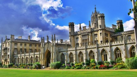 Học bổng Gates Cambridge, ĐH Cambridge, Anh, 2017