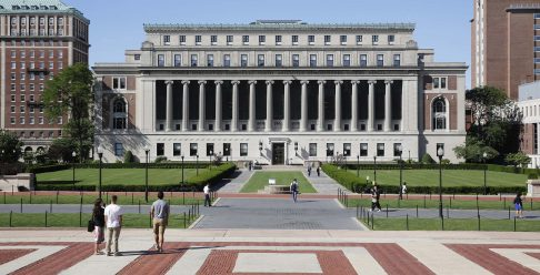Học bổng giao lưu ngắn hạn sau Tiến sĩ, ĐH Columbia, Mỹ, 2017