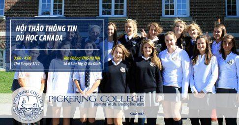 [HN] Phỏng vấn Học bổng Trung học tại Pickering College (Canada) tới $100,000
