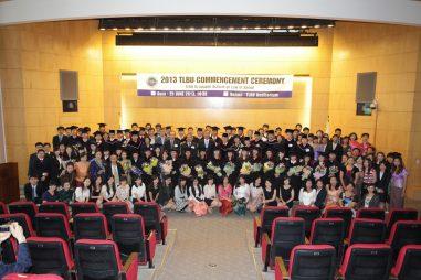 Học bổng Toàn phần Thạc sĩ Luật Quốc tế, ĐH TLBU, 2017 – 2019