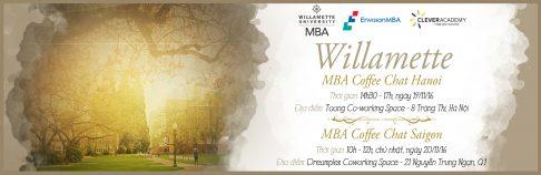 [TP.HCM & Hà Nội] MBA Coffee Chat tháng 11 với Đại học Willamette (Mỹ)