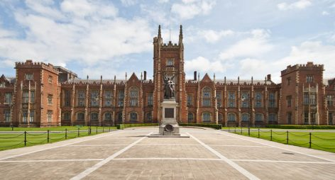 Học bổng của Vice-Chancellor, Queen's University Belfast, Anh, 2017