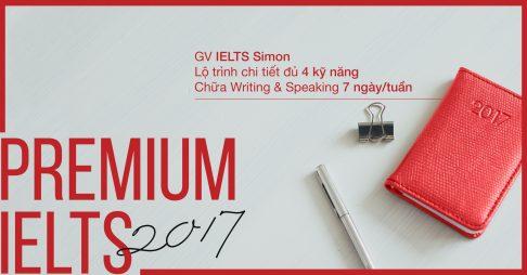 Premium IELTS 2017 (with IELTS Simon)