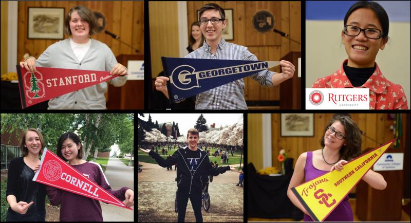 Học cao đẳng cộng đồng giúp bạn chuyển tiếp đến các trường ĐH danh tiếng dễ dàng hơn. Credit: American Honors