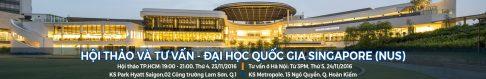 [Event][TP.HCM & Hà Nội] Hội thảo và tư vấn chương trình MBA, Đại học Quốc gia Singapore (NUS)