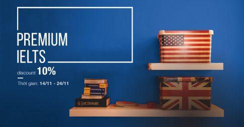Coupon 10% – Premium IELTS
