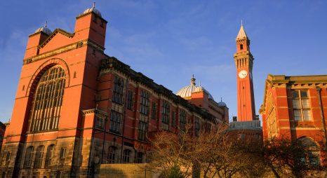 Học bổng Tiến sĩ, Viện Nghiên cứu Lịch sử và Văn hóa Birmingham, ĐH Birmingham, 2017-2018