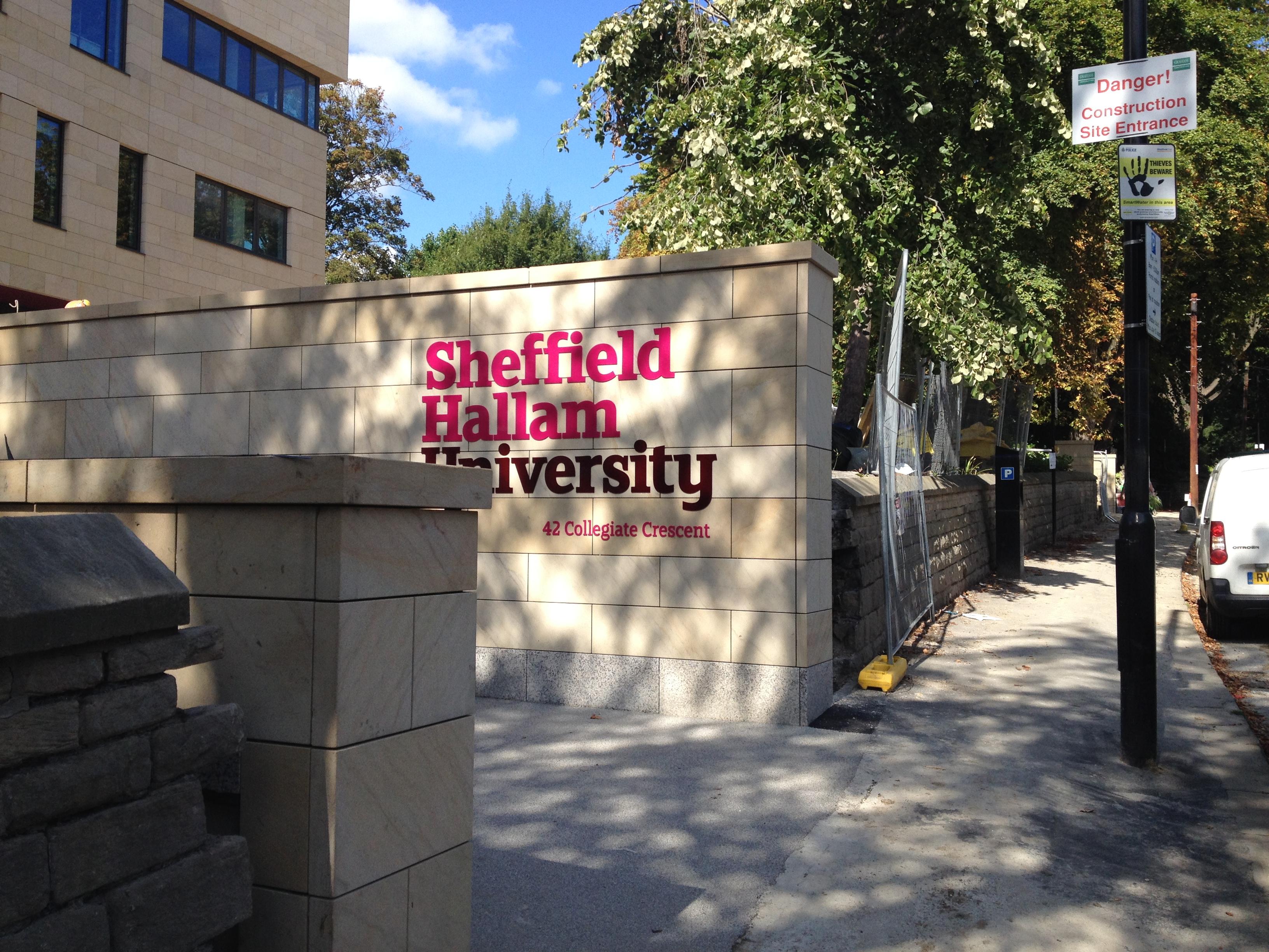 Học bổng Transform Together, ĐH Sheffield Hallam, Anh, 2017