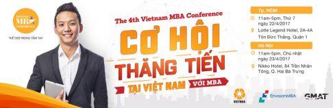 Chương trình Phỏng vấn Học bổng lên tới 100% tại Vietnam MBA Conference 2017- Hãy sẵn sàng để toả sáng!