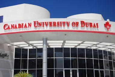 Học bổng của Đại học Canadian Dubai, UAE, 2017-2018