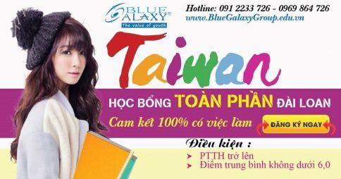 Học bổng du học Đài Loan và vừa học vừa làm (Bậc Đại học – Thạc sĩ – Tiến sĩ)