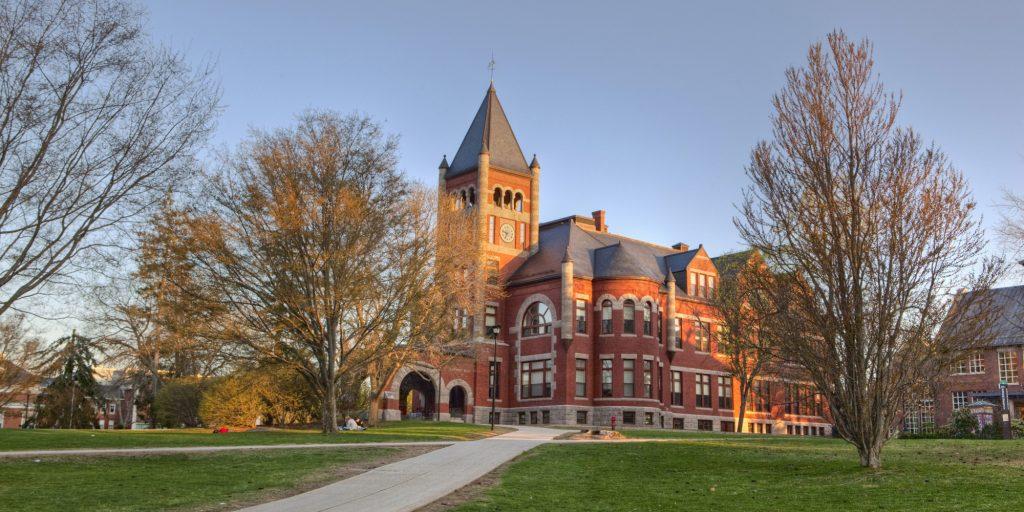 University campus, University of New Hampshire, Durham, USA