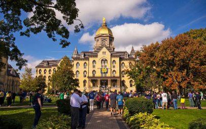 Học bổng toàn phần, bậc Tiến sĩ, Đại học Notre Dame, Mỹ, 2018