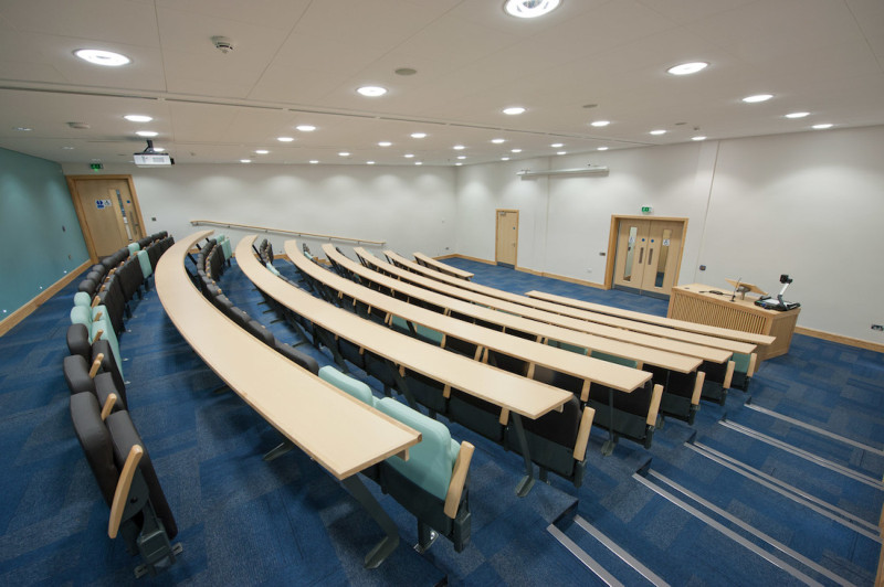 QUMS lecture theatre at Riddel Hall