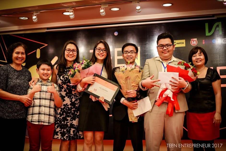 Ảnh lễ trao giải Teen Entrepreneur 2017