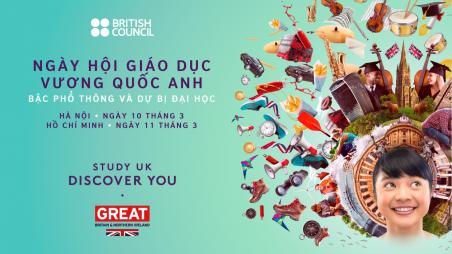 Ngày Hội Giáo Dục Vương Quốc Anh Bậc Phổ Thông Và Dự Bị Đại Học 2018 – Hồ Chí Minh