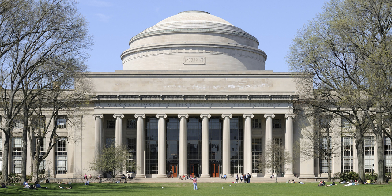 Massachusetts Institute of Technology in the Spring