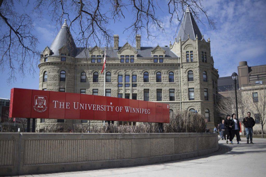 JEN DOERKSEN/WINNIPEG FREE PRESS University of Winnipeg Post-secondary students lost funding for grants and bursaries in the provincial budget announcement. Tuesday, April 11, 2017.