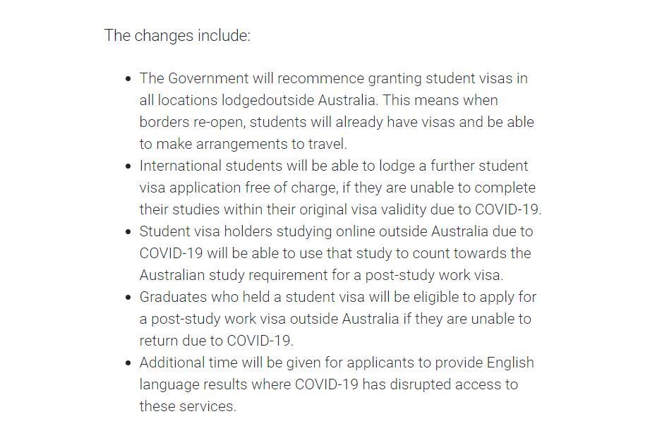 5 thay đổi quan trọng về VISA Du Học từ chính phủ Úc