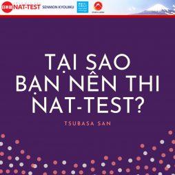 TẠI SAO BẠN NÊN THI NAT TEST